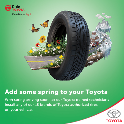 Get Your Spring Tires