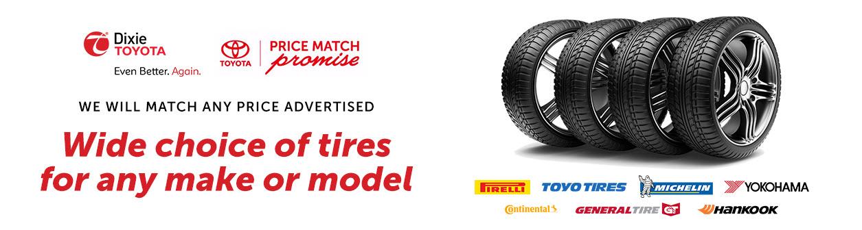 Tire Price Match Guarantee!