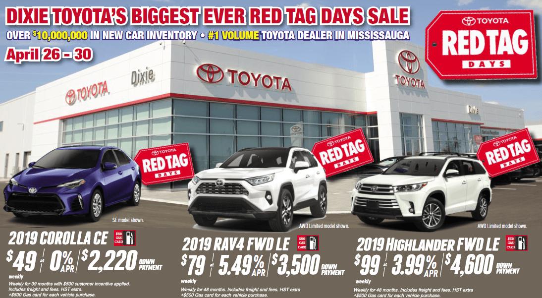 Dixie Toyota Sale