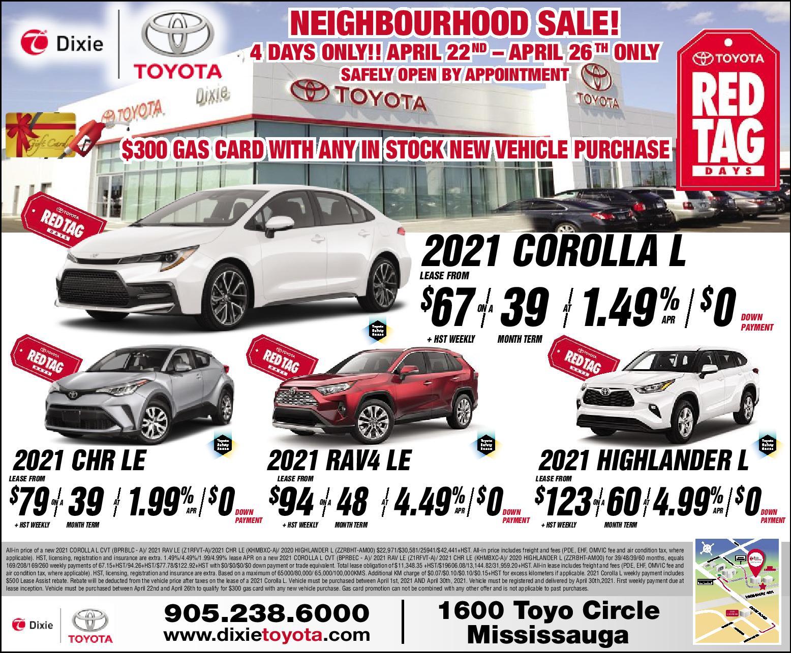 Neighbourhood Sale