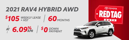 2021 Rav4 Hybrid AWD