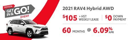 Rav 4 hybrid awd