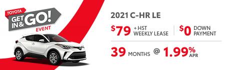 2021 C-HR le